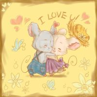 Mice Love by lepler