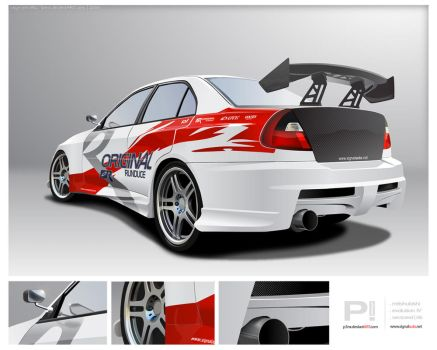 Evolution IV vector by p3nx