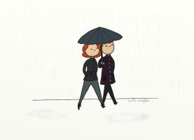 .In the rain. by bababug