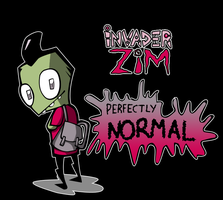 Perfectly normal: color by Crow1992