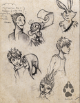 ROTG doodle sheet by Red-Fox92