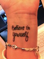 Belive in yourself by ThatShouldBeMe