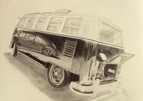 VW Camper by resistanceispointles