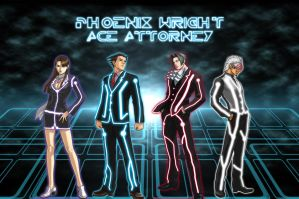 TRON: Ace Attorney by sidorak900