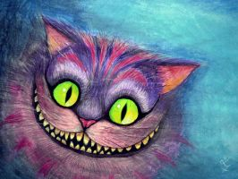 Cheshire cat by ylorish