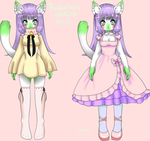 Pastela's Outfits part 1 by BiisuMonster