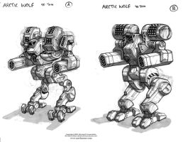 MechWarrior Fail: Arctic Wolf by Mecha-Zone