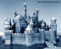 The Castle of the Snow Queen by e-designer