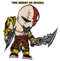 Kratos - Ghost of Sparta by joaood
