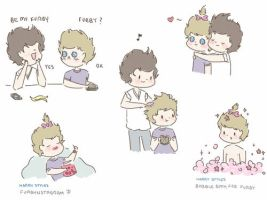 Harry Styles' Furby by milamint