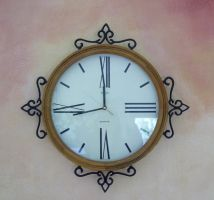 Clock or Round Frame by chamberstock