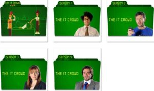 The IT Crowd Folder Icons by nellanel
