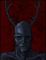 The Wendigo by BrandonM-Art