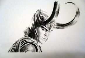Loki by MaiaSketches
