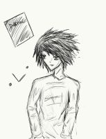 Deathnote - L by Ice-Chrome