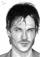 Ian Somerhalder by Nikkilein