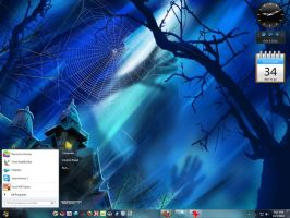 Win7 Holloween Theme by E-MC-2