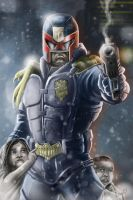 Judge Dredd by JoseGalvan