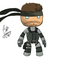 solid sackboy by mischievousecho