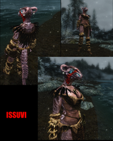 Issuvi in Skyrim by Brohan-Aggron