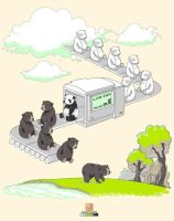 How Pandas Were Made by CreamTroll
