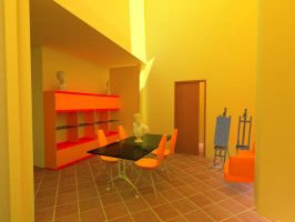 SS. Annunziata atelier room by katychan83