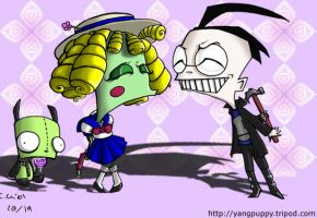 Invader Zim- True Love by yang