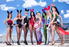 The Original Avenger Bunnies! by LoveLoveLace