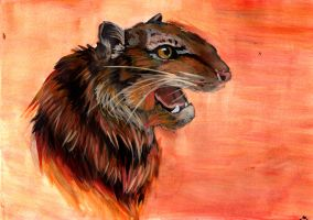 Riger the Tiger Rat by Toyger