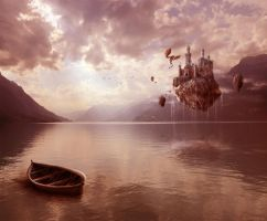 lake of fantasy by Rahtschini
