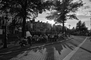 Amsterdam sunset II by irem-altan