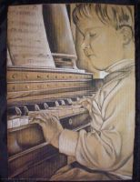 At the Piano by Lusc-Fire