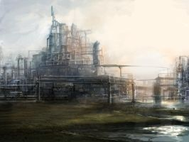 abandon factory by Norbu341