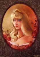 Princess Aurora (Briar Rose) by Moon-In-Milk