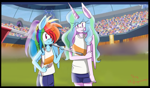 Equestria Games MLP Sonic Style by MyPonysonicstyle