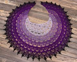 The Wheel of Time Shawl by dsgngrl