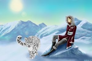 In the Land of Snow and Ice by Kurraii