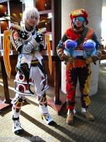 Haseo and Azure cosplay 3 by mei-chama