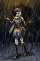 Mail Carrier by Lyra-Somnium