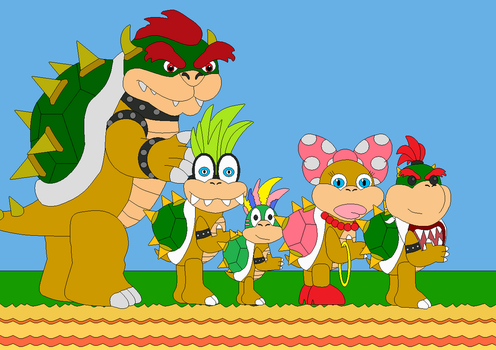 The Rest of Bowser's Kids by Bowser14456