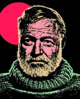 ERNEST HEMINGWAY-PAPA by griffinpassant