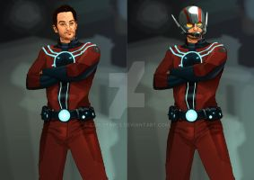 Paul Rudd is Ant Man by CarlPearce