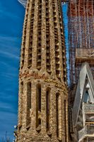 Sagrada familia detail 25 by forgottenson1