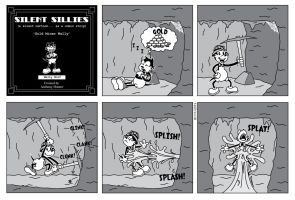 Silent Sillies - 119 Gold Miner Wally by JK-Antwon