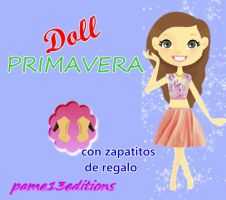 Doll-primavera by pame13editions