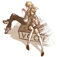 [Vocaloid] re-flected. by ProtoRC