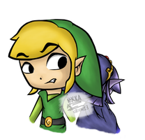Toon Link and Vaati by CortexgalReturns