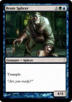 Brute Splicer MTG card by dixyn0rmous