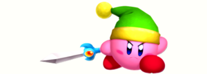 Sword Kirby by scriptureofthescribe