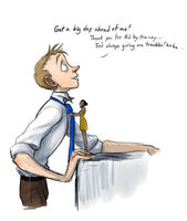 Fixing the Tie by Bonka-chan